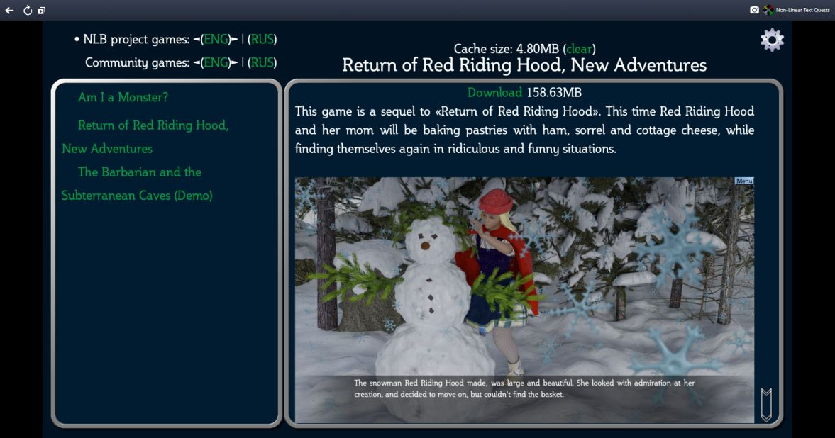 Return of Red Riding Hood, New Adventures